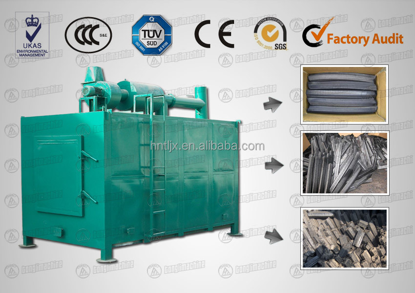 Good Quality New Design Rice Straw Monomer furnace/ Charcoal Machine Production Line/coconut shell Charcoal Machine/