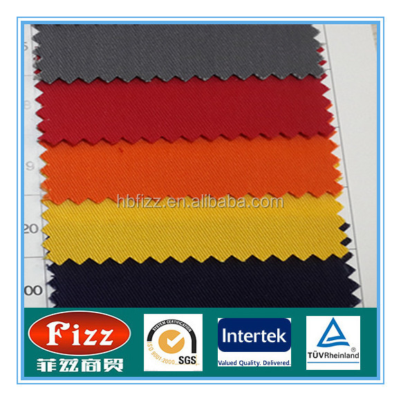 100Cotton CA290 FR Antistatic Twill Fabric for Safety Overalls