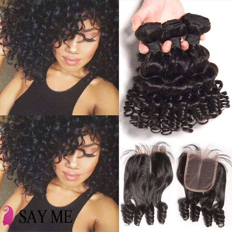 Discount 3 bundles yaki curly human hair with lace closure 20 inch kinky weave 100% raw mongolian low price