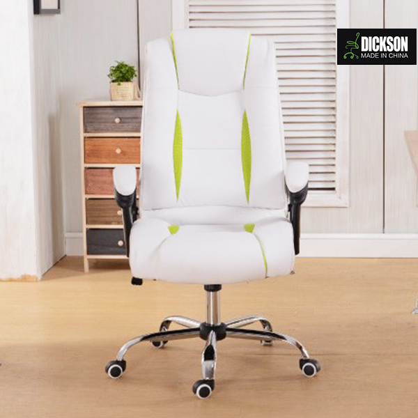Dickson white leather mesh office chair shocking the market and satisfy your demand