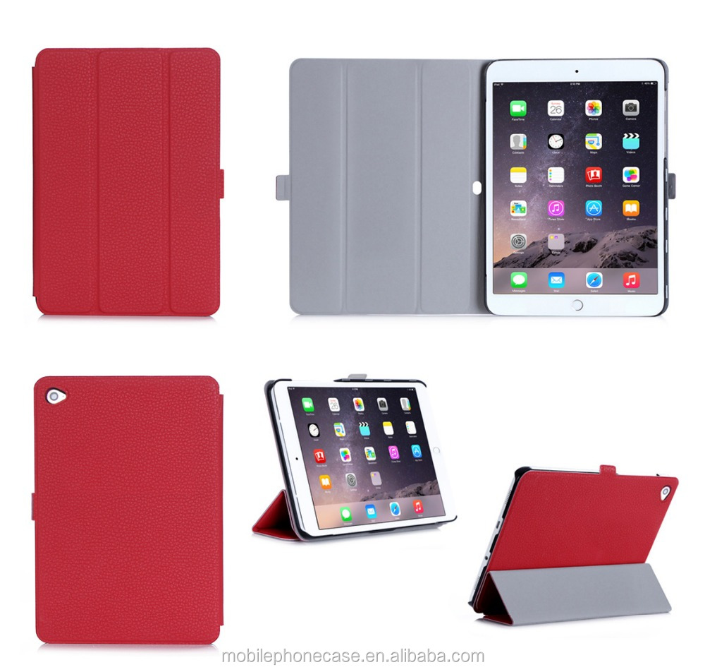 good touching feeling leather case for ipad pro, for ipad pro case