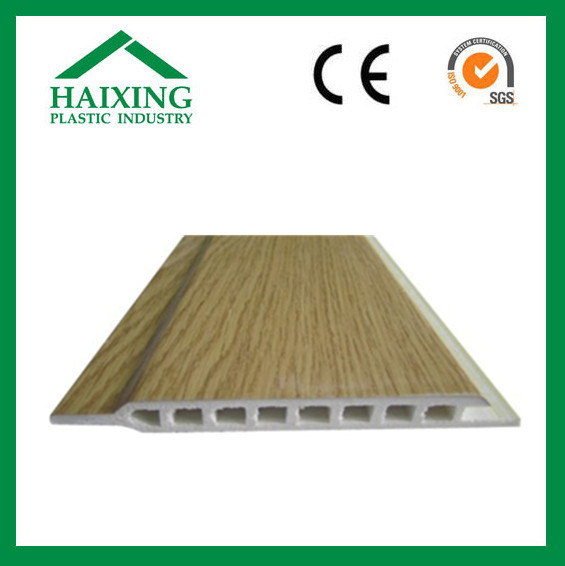 Wood plastic exterior wall decorative panel board wpc wall cladding CE EU SGS standard