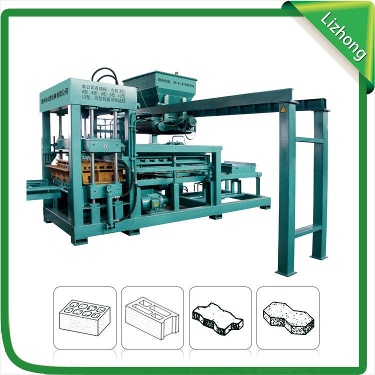 concrete block machine price