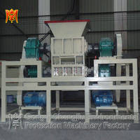 Head material new multifunction no pollution four shaft shredder