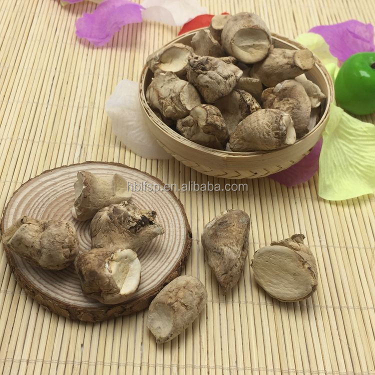 Brown Dried Shiitake Mushroom Stem Export Price