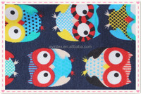 100%cotton printed interlock,cotton fabric for baby clothes