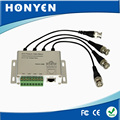 4 CH Male BNC passive video balun HY-403M