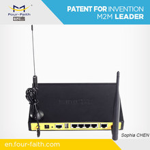 F3836 industrial transport 4g wifi router providing 4g wifi for bus security monitoring system