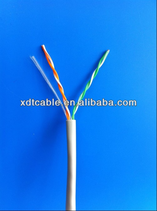 cat3 rj11 4 wire 2 pairs telephone cable