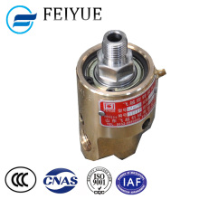 HD-6 type high speed copper hydraulic rotary joint for water