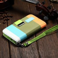 Luury Hybrid Leather Wallet Flip Pouch Stand Case Cover For Apple iPhone Phone Bags Cases For i Phone 5 5S 4 4S 6 6plus