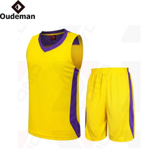 2017 Kids and adults size wholesale blank basketball jersey