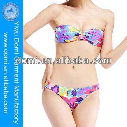Sexy beautiful print bikini www sex women photo . com chic U styling dog women sex photo bikini