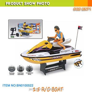 1:5 scale RC motorboat high speed remote control motorboat