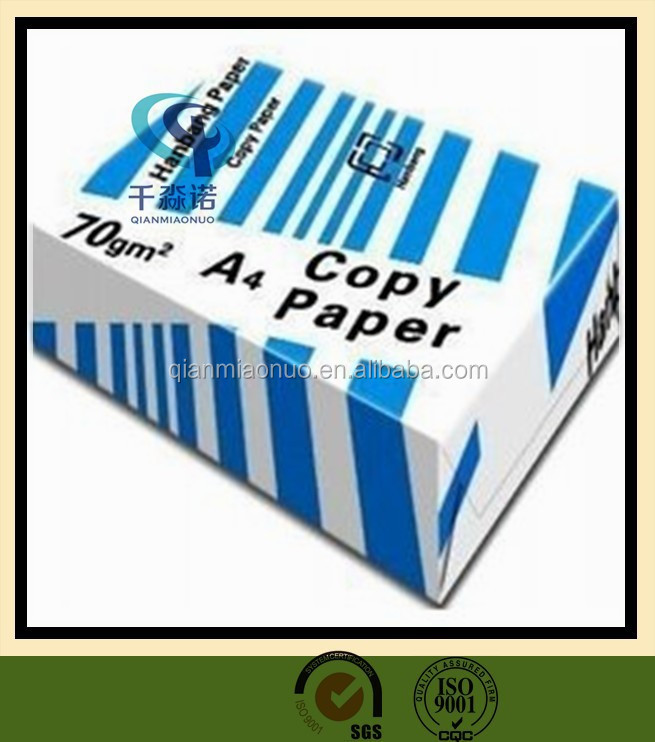 100% a4 copy print a4 paper with good quality from China supplier