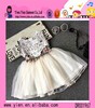 One Piece White Lace Dress Fashion Little Princess Sleeveless Clothing Baby Girl Party Dress