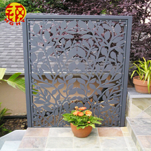 stainless steel decorative wall partition balcony flower room divider outdoor privacy screen