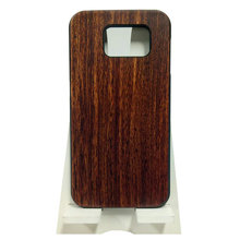Mobile Phone Protection Shell Case Wooden Rosewood PC Cover for Samsung 6