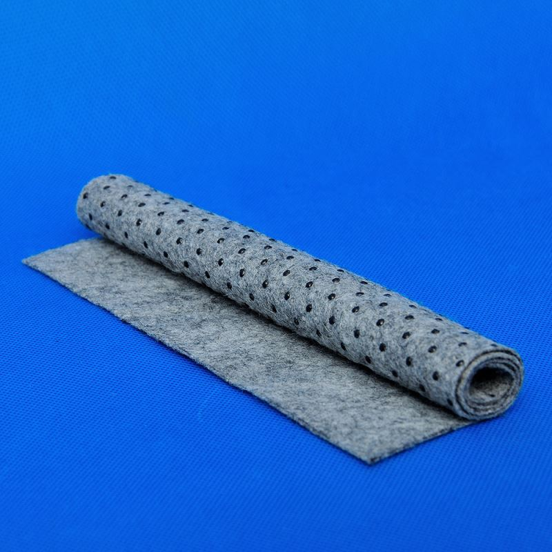 Custom Polyester Nonwoven Fabric With PVC Dots In Stocklot
