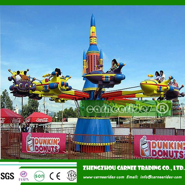 Playground amusements children's rides electrical outdoor rotary self control air plane for sale!
