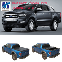 Fiberglass real truck tonneau covers for FORD RANGER 2014+