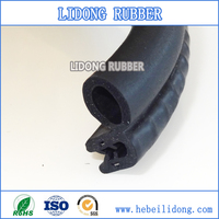 China auto/car/truck good quality rubber parts pinchweld door seal with metal