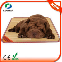 FW518 Far Infrared Health Waterproof Dog Rug New Stylish Carbon Crystal Heating Waterproof Dog Rug