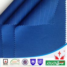 XINXINGFR funtional fabric 220gsm 32*21yarn 100% cotton anti-static fire retardant twill fabric for safety coverall