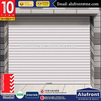 China factory exterior roller tilt up garage door with AS2047