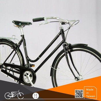 700C Fixed Gear Bicycle Vintage Classic style fixie lady bike