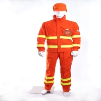 high visibility flame resistant oil refinery work wear with EN ISO 11612