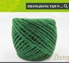 Dyed colored twisted natural raw knitting baler yarn string ecofriend green bulk jute twine with high quality