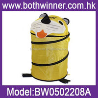 laundry basket with legs ,H0T030 pop up folding laundry basket with two handle , net laundry hamper