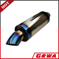High quality stainless steel titanium racing exhaust muffler for JS Style