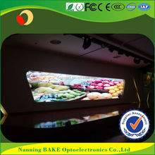hd led ticker display P3 of message and video receipt