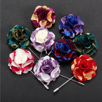 Newest Flower Lapel Pin Jewelry Fashion Brooches in Bulk