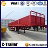 China used dolly curtain side semi trailer axles