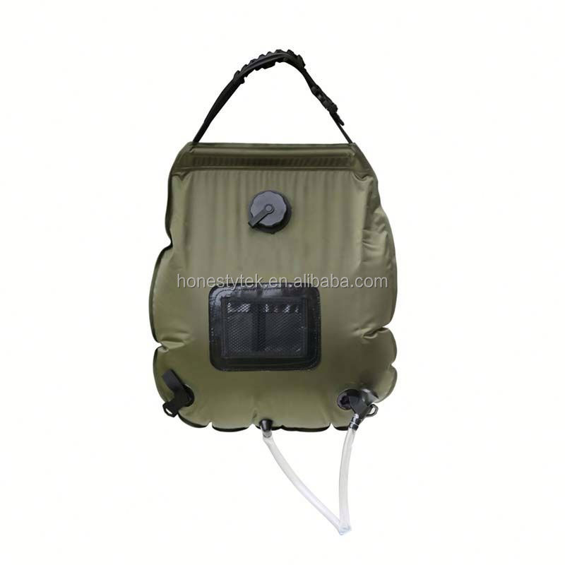 HT051 durable trendy style front zipper pocket TPU nylon outdoor waterproof dry bag