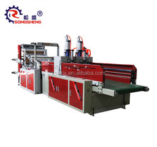 SS-GFQ series automatic t shirt bag cold cutting plastic shopping carry bag making machine price