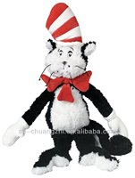 plush action figure toys Dr. Seuss Cat in The Hat