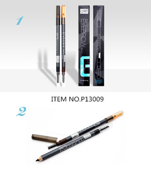 Menow Cosmetic P13009 eyebrow pencil with brush