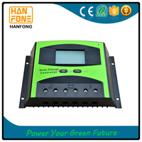Hanfong 40A 12v/24v cheap solar charge controller with multi-function ST1 series