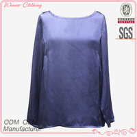 ODM/OEM manufacturer best price long sleeve fancy tops for women
