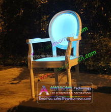 led chair with arm / glow arm chair / chair in the shape of a hand