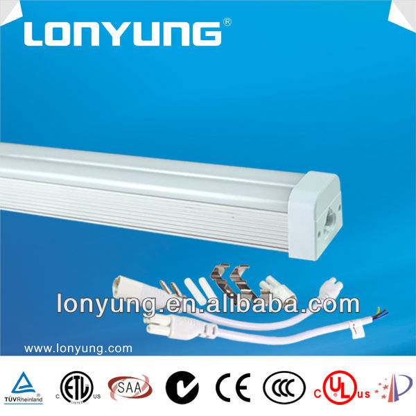 high power 12v dc fluorescent T5 double tube 750mm 20w