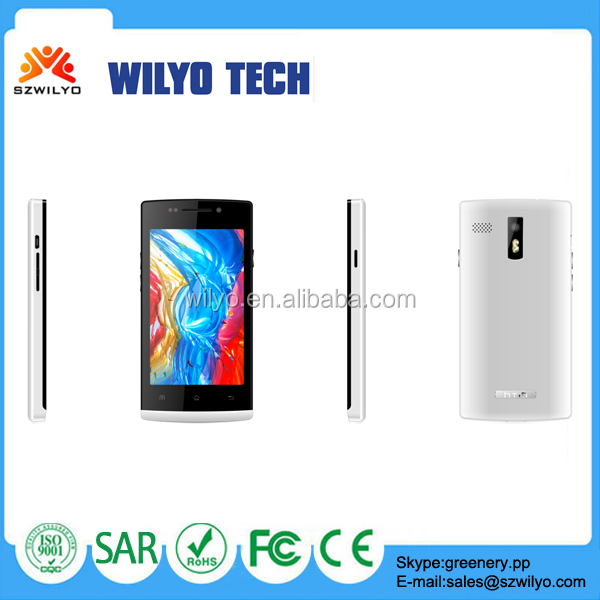 WS27 4.0in Gsm Quad Bands Wifi Buy Pear Cell Phone 0.3M 2.0Ml Camera Android 4.2 Pear Phone