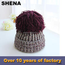 hot sale fashionable low price twill knitted children winter hat sex product hot girl image factory china