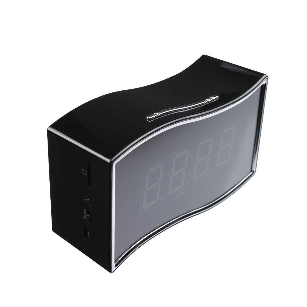 HD <strong>1080P</strong> spy camera clock with remote control and night version desk clock hidden camera wifi