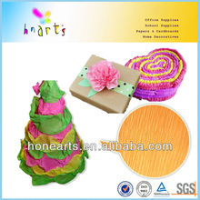 crepe paper for gifts,creped paper flower wrap,colour creped paper