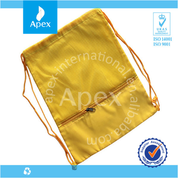 backpack waterproof yellow matching shoe and bag